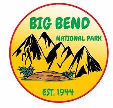 Big Bend National Park Sticker Decal R1114