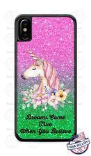 Unicorn Dreams Come True Magical Phone Case Cover Fits iPhone Samsung LG etc