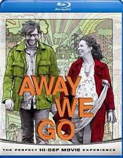 Away We Go (Blu-ray Disc, 2009) Maya Rudolph, John Krasinski - NEW & SEALED