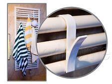 HIGH QUALITY Hanger for Heated TOWEL RAIL Radiator Tubular Bath HOOK HOLDER NEW