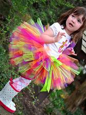 Girls multi-coloured tutu skirt size 2,3,4