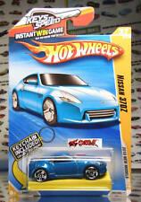 Hot Wheels 2010 #037 Nissan 370Z LITE BLUE,2ND COLOR,US,KEYS TO SPEED,IMAGE #1