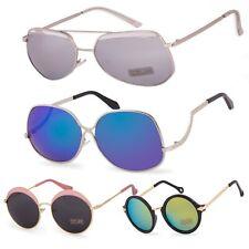4bcedc0943 Women Ladies Sunglasses Fashion Round Star Mirror Glasses Square