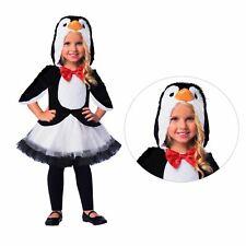 Kids Girls Plush Cute Penguin Animal Bird Tutu Fancy Dress Christmas Costume