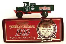 MATCHBOX ~ YESTERYEAR ~ Y-9 ~ 1920 LEYLAND 3-TON SUBSIDY LORRY