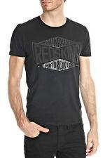 Tee shirt manches courtes Homme Redskins KLY CALDER noir