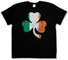 Shamrock Irish Flag t-shirt-Cloverleaf Irlanda Ireland trébol bandera T-Shirt