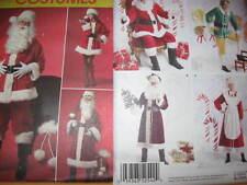 Pattern SANTA CLAUS ms Claus S-L XL-XXXL or Santa Elf Ms Claus XS-M L-XL New