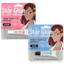Star Glue Eyelash Adhesive The Best Eye Lash Glue Waterproof - Dark & Clear 1g