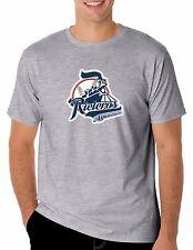 Baseball Rieleros de Aguascalientes T-Shirt for Men's Color Gray 100% Cotton