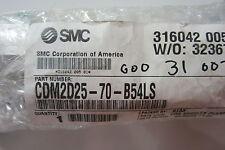 NEW SMC CDM2D25-70-B54LS CYLINDER CDM2D2570B54LS