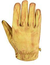kurze Leder Retro Vintage Motorrad Handschuhe Biker Vintage CafeRacer Handschuhe