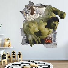 Hulk 3D Wall Decal, Wall Sticker, Removable Vinyl Sticker