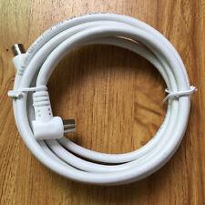 2M mètre câble angle droit Antenne RF TV Angle Droit mâle à Coaxial BlaBB