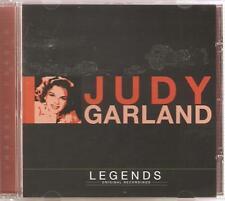 JUDY GARLAND LEGENDS CD ORIGINAL RECORDINGS - OVER THE RAINBOW & MORE