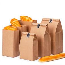 10pcs sac cadeau en papier kraft mariage vintage papier brun sans poignée