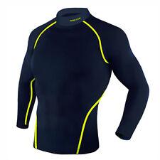 Take Five Mens Skin Tight Compression Base Layer Running Lining Shirt NT045