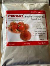 FORUN Spray Dried Strawberry Powder (50G/200G/400G/600G/1KG/2KG)