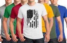 AR15 American Flag M4 T-Shirt Men's Military Army Rifle Gun TO 5X