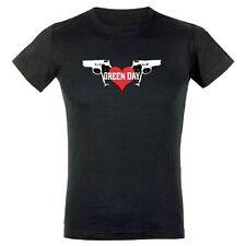 Green Day tough love Girl-t-shirt noir