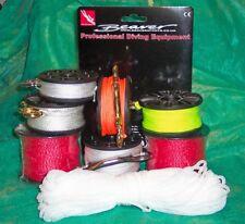 SCUBA reel diving dSMB SMB + snap bolt choose size or a Beaver replacement line