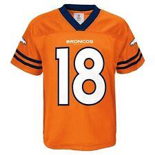 NFL Denver Broncos Peyton Manning #18 Youth Orange Performance Jersey