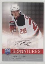 2008 Upper Deck Be a Player Signatures #S-PE Patrik Elias New Jersey Devils Auto