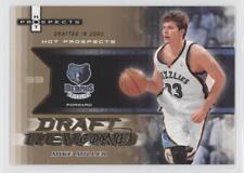 2006 Fleer Hot Prospects Draft Rewind #DR-MM Mike Miller Memphis Grizzlies Card