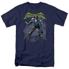 Batman Nightwing Licensed DC Comics Adult Shirt S-3XL