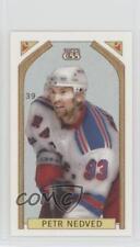 2003-04 Topps C55 Mini O' Canada Back Red #39 Petr Nedved New York Rangers Card