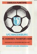 OL 83/84  1. FC Magdeburg - FC Vorwärts Frankfurt/O.