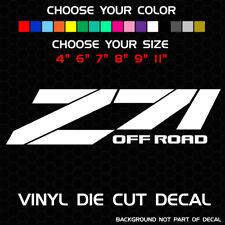 Pair of Z71 Off Road Decals | Chevrolet Silverado 1500 4x4 Stickers