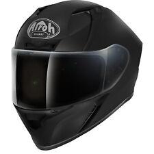 Airoh Valor Colour Solid Matt Black Motorbike Helmet Sport Full Face Motorcycle