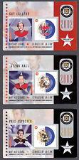 2002 NHL ALL-STARS COMMEMORATIVE STAMP CARD SET TIM HORTON HOWIE MORENZ ESPOSITO