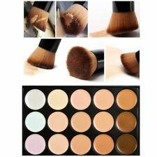 15 Colors Makeup Concealer Palette Set With Brush Sponge Puff Face Contour Cream