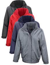 Ladies Womens Warm Fleece Lined Waterproof Jacket Coat Concealed Hood