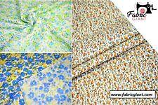 Printed Poplin, Premium Cotton,Flower Print Fabric,148 cm wide,High Quality