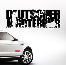 AWILTEXT Auto Aufkleber DEUTSCHER JAGDTERRIER Jagdhund WILSIGNS Siviwonder