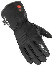 Joe Rocket Mens Burner Rechargable Battery Heated Snowmobile Waterproof Gloves