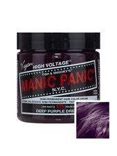 Manic Panic Hair Dye High Voltage Colour 118ml - Deep Purple Dream