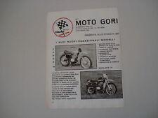 advertising Pubblicità 1973 MOTO GORI CROSS/REGOLARITA'