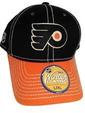 New Philadelphia Flyers Mens Sizes S/M-L/XL Reebok Winter Classic Black Hat $24