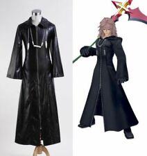 Kingdom Hearts Organization XIII Black Long Coat Roxas Halloween Cosplay Costume