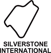 X2 circuito di Silverstone internazionale PISTA contorno Vinile Decalcomanie Adesivi
