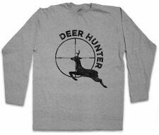 DEER HUNTER LANGARM T-SHIRT Hunter Hirsch Bear Hunting Sport Rifle Jagd Jäger