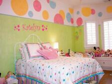 GIRLS NAME STARS Vinyl Sticker Wall Decal Room Decor