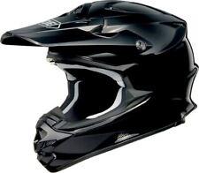 Shoei VFX-W Plain Negro Casco de la motocicleta