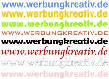 5 x www Domain Aufkleber Domainaufkleber Wunschtext in 20 30 40 50 60 70 80 cm