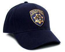 California Highway Patrol Eureka Badge Applique Hat Cap Adult One-Size  Multi