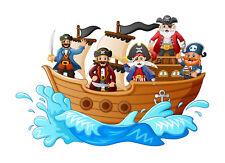 Fototapete Selbstklebend Piraten Schiff Kinderzimmer Piratenschiff Tapete